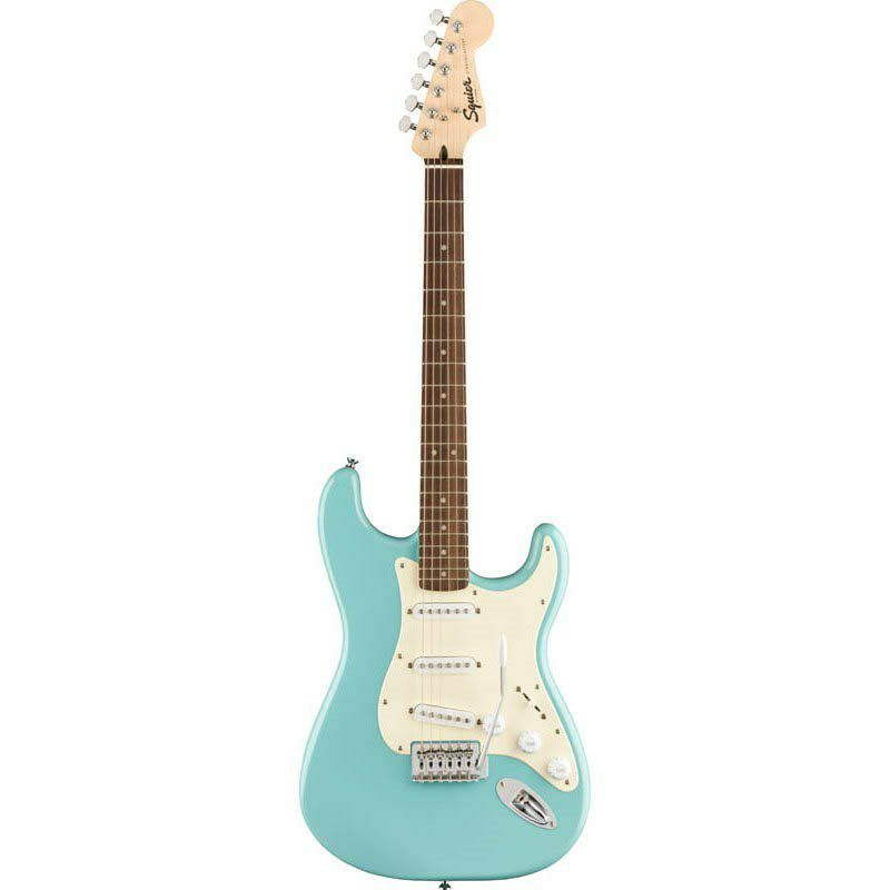 Bullet Strat with Tremolo(Tropical Turquoise/Laurel Fingerboard)_1