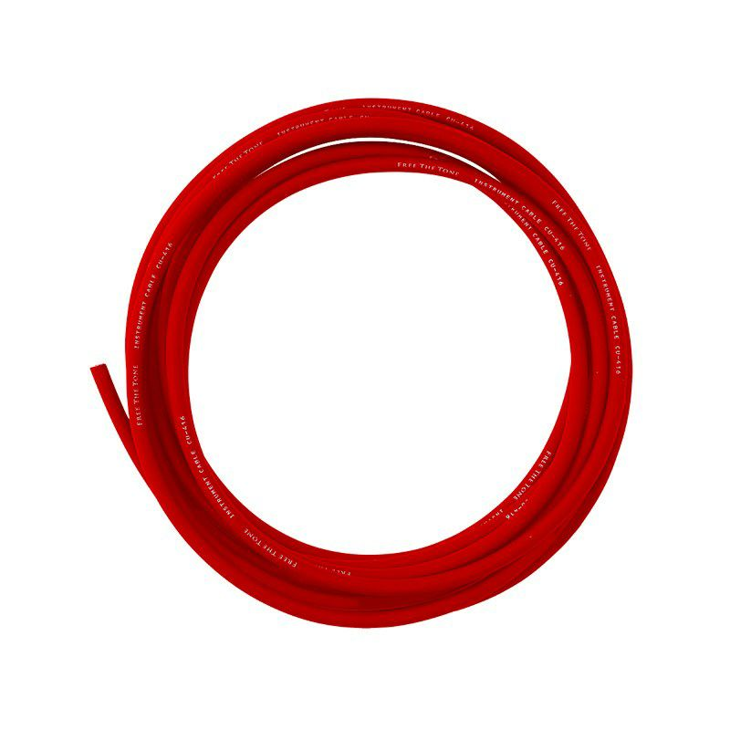 INSTRUMENT CABLE CU-416(for SL-4)(RED) [1M]【イケシブOPEN記念特別限定モデル】_1