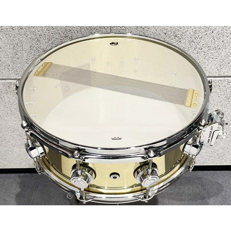 DW-BR7 1455SD/BRASS/C/S [Collector's Metal Snare / Bell Brass 14×5.5]【展示品入れ替え特価!】_5
