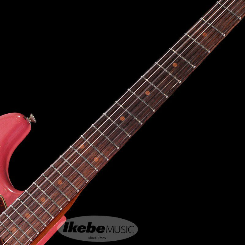 2018 Limited 1960 Roasted Alder Stratocaster Heavy Relic (Super Faded/Aged Fiesta Red)_4