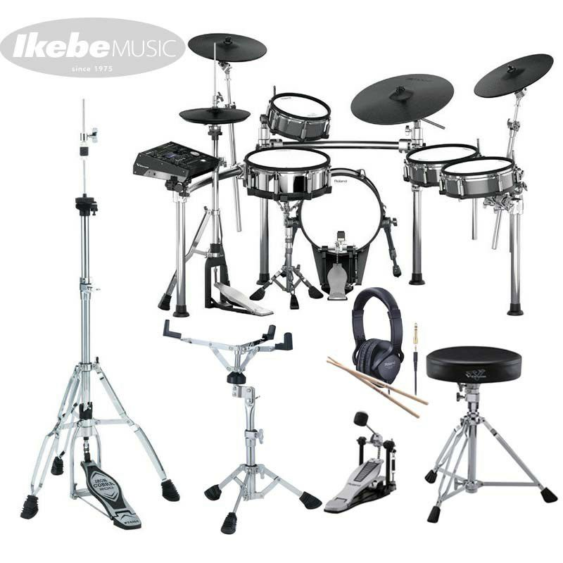 TD-50KV [V-Drums Kit] with KD-140-BC [V-Kick] & MDS-STG [Drum Stand] 【お得なハードウェアパッケージセット!】_1