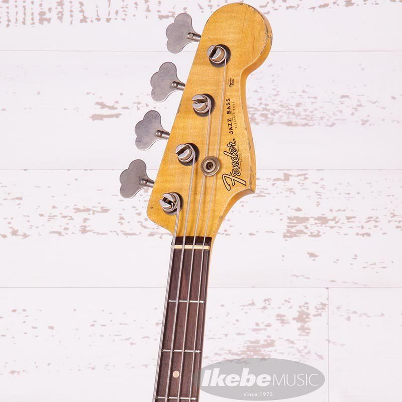 2021 Custom Collection 1961 Jazz Bass Heavy Relic (Aged Shoreline Gold)_6