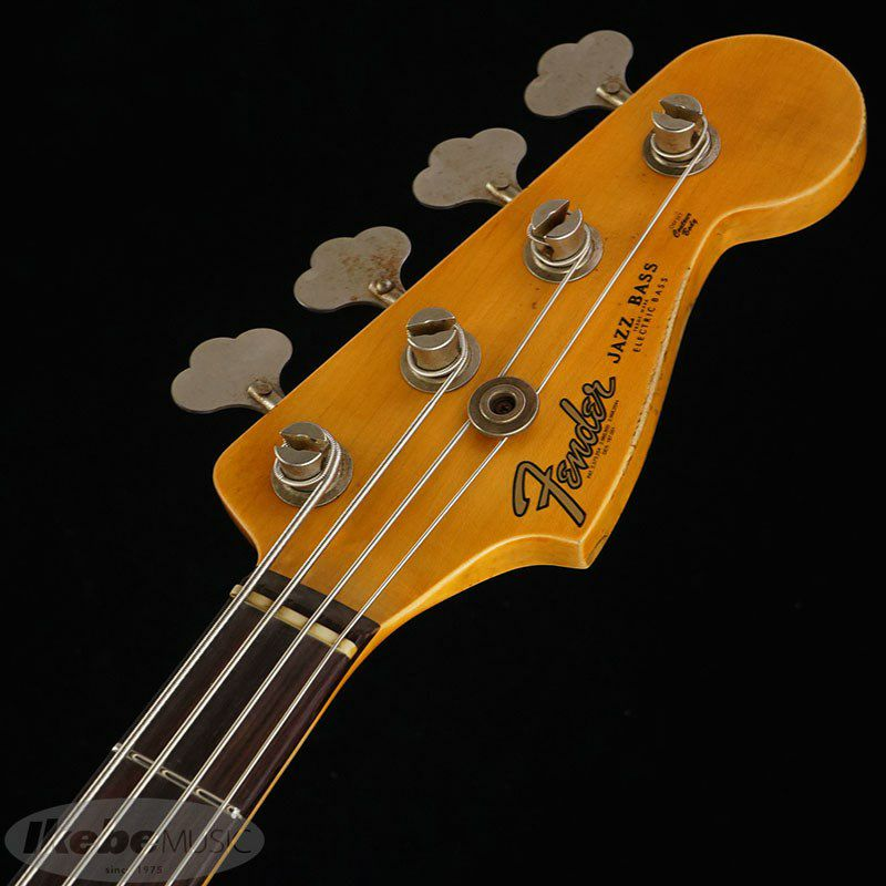 2021 Custom Collection  1961 Jazz Bass Heavy Relic (Aged Shoreline Gold)_10