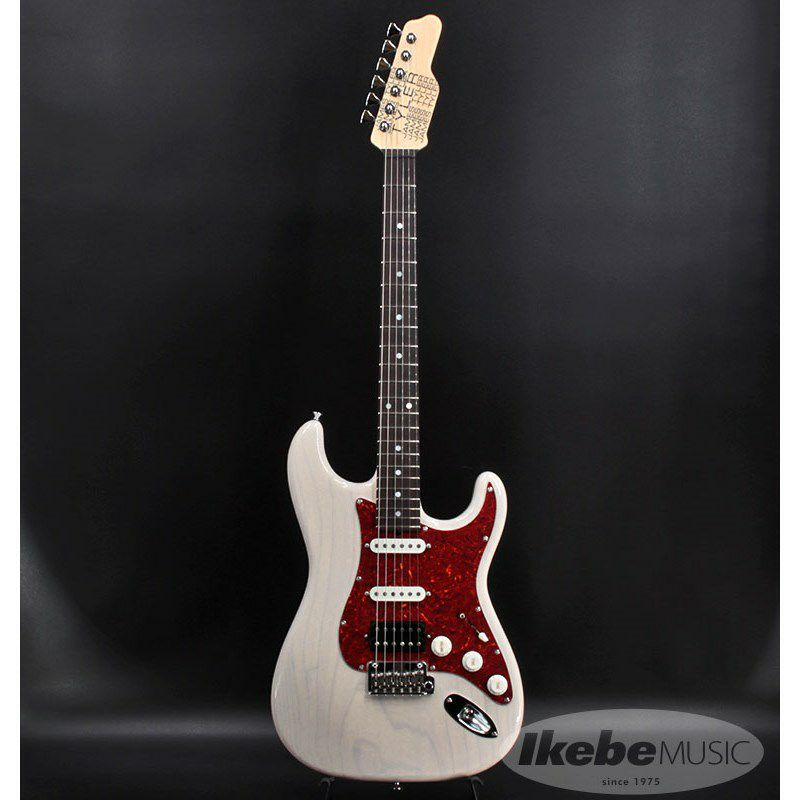 Japan Classic Ash/Rosewood with Large Head Stock (White Blonde)【SN.J21038】_2