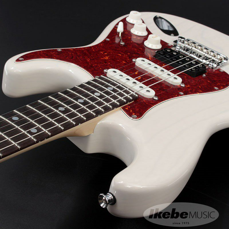 Japan Classic Ash/Rosewood with Large Head Stock (White Blonde)【SN.J21038】_6