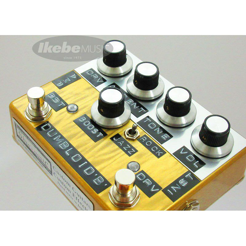 DUMBLOID BBoost Special with JAZZ/ROCK SW GOLD SCRATH_2