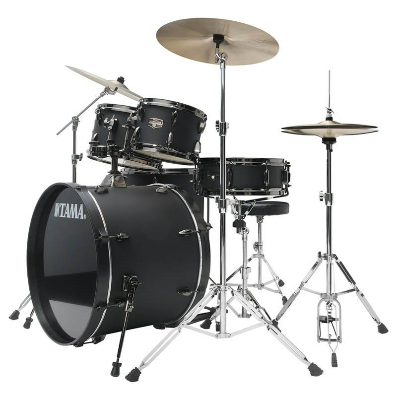 IE52KH6B-BOB [IMPERIALSTAR 22 Bass Drum Kit w/Hardware Kit (without Cymbal)/Blacked Out Black] 【限定品】 【お取り寄せ品】_2
