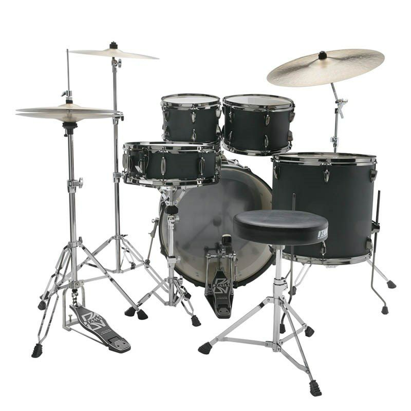 IE52KH6B-BOB [IMPERIALSTAR 22 Bass Drum Kit w/Hardware Kit (without Cymbal)/Blacked Out Black] 【限定品】 【お取り寄せ品】_3