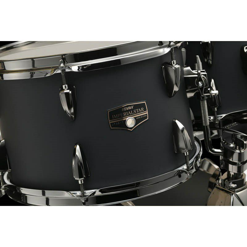 IE52KH6B-BOB [IMPERIALSTAR 22 Bass Drum Kit w/Hardware Kit (without Cymbal)/Blacked Out Black] 【限定品】 【お取り寄せ品】_4