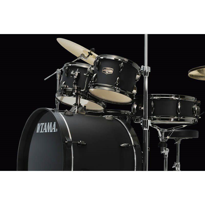 IE52KH6B-BOB [IMPERIALSTAR 22 Bass Drum Kit w/Hardware Kit (without Cymbal)/Blacked Out Black] 【限定品】 【お取り寄せ品】_5