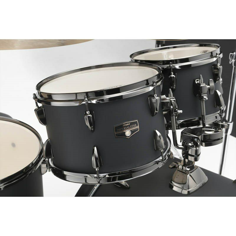 IE52KH6B-BOB [IMPERIALSTAR 22 Bass Drum Kit w/Hardware Kit (without Cymbal)/Blacked Out Black] 【限定品】 【お取り寄せ品】_6