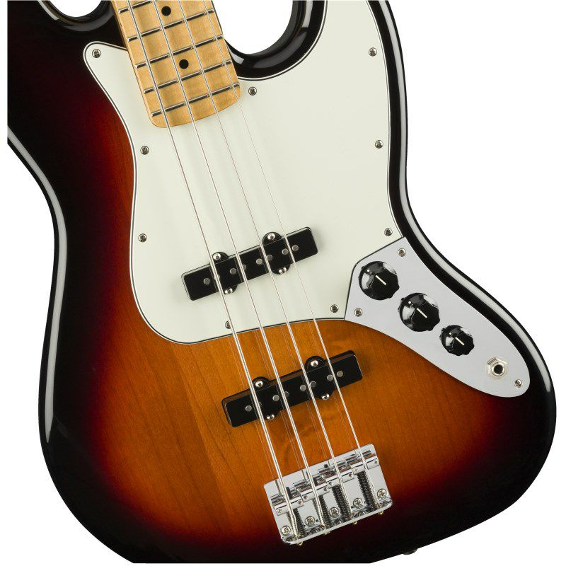 Player Jazz Bass (3-Color Sunburst/Maple) [Made In Mexico]_3