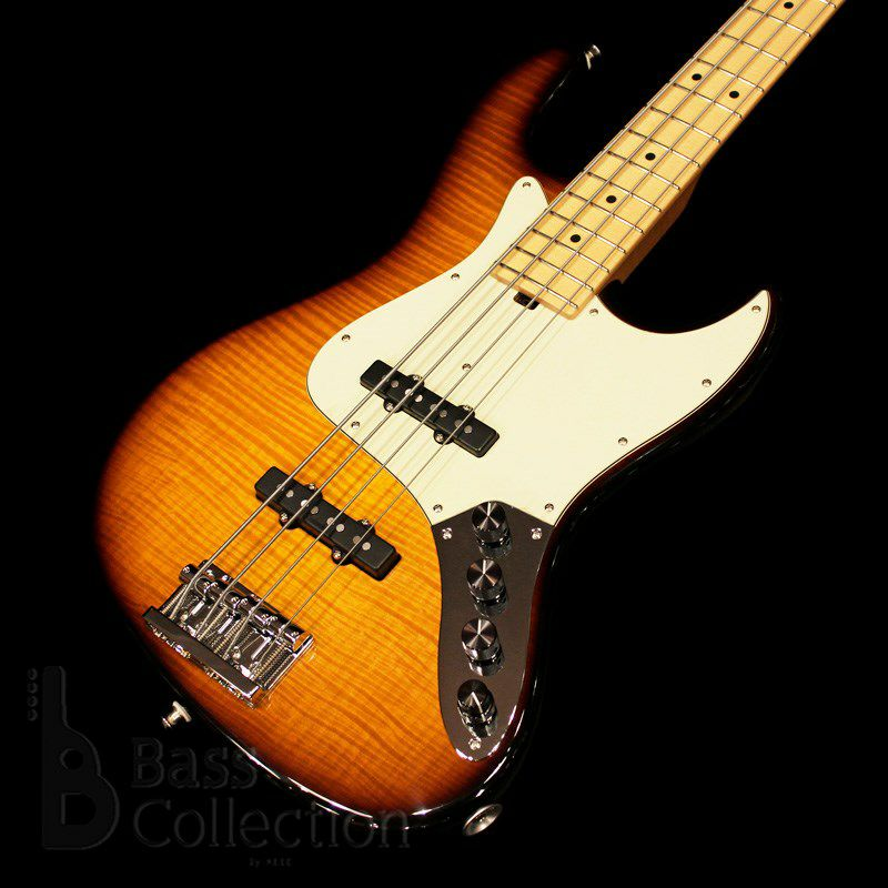 NYC Vintage 4st/21F w/Roasted Maple Neck (Flamed Maple Top / '59 Burst)_2