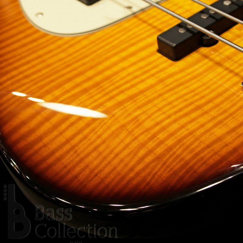 NYC Vintage 4st/21F w/Roasted Maple Neck (Flamed Maple Top / '59 Burst)_4