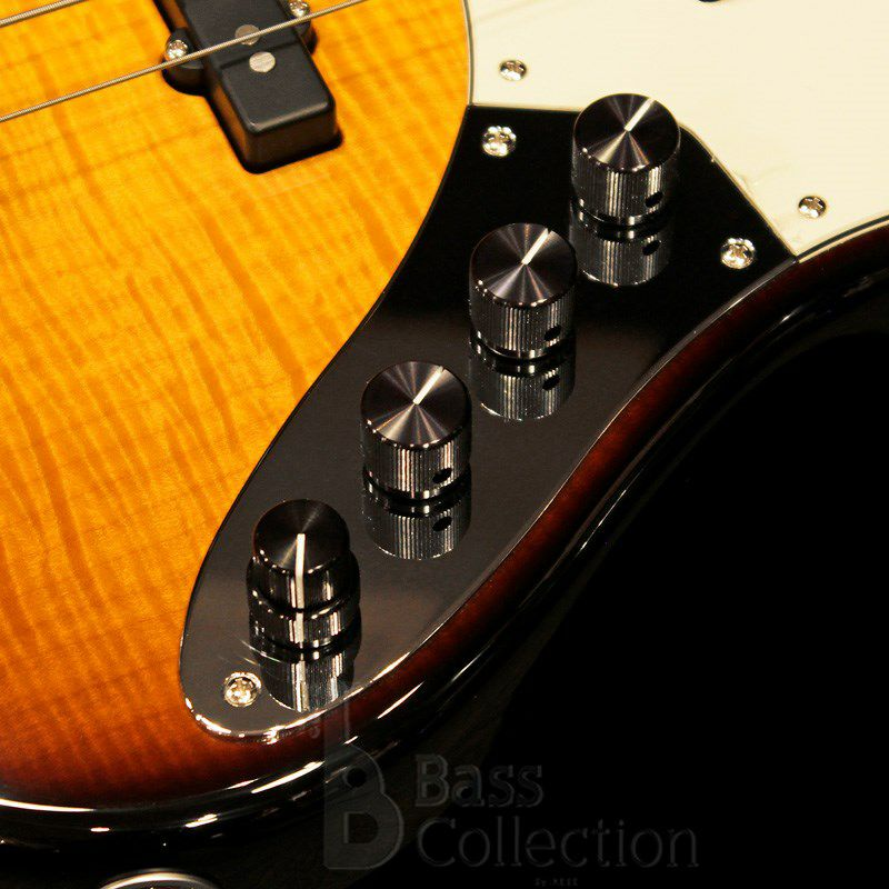 NYC Vintage 4st/21F w/Roasted Maple Neck (Flamed Maple Top / '59 Burst)_5