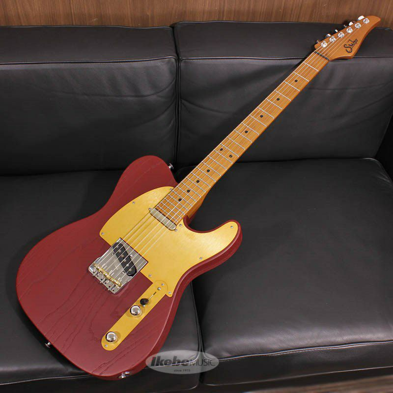 Signature Series Andy Wood Signature Modern T, Classic Style, Iron Red SN.62583_1
