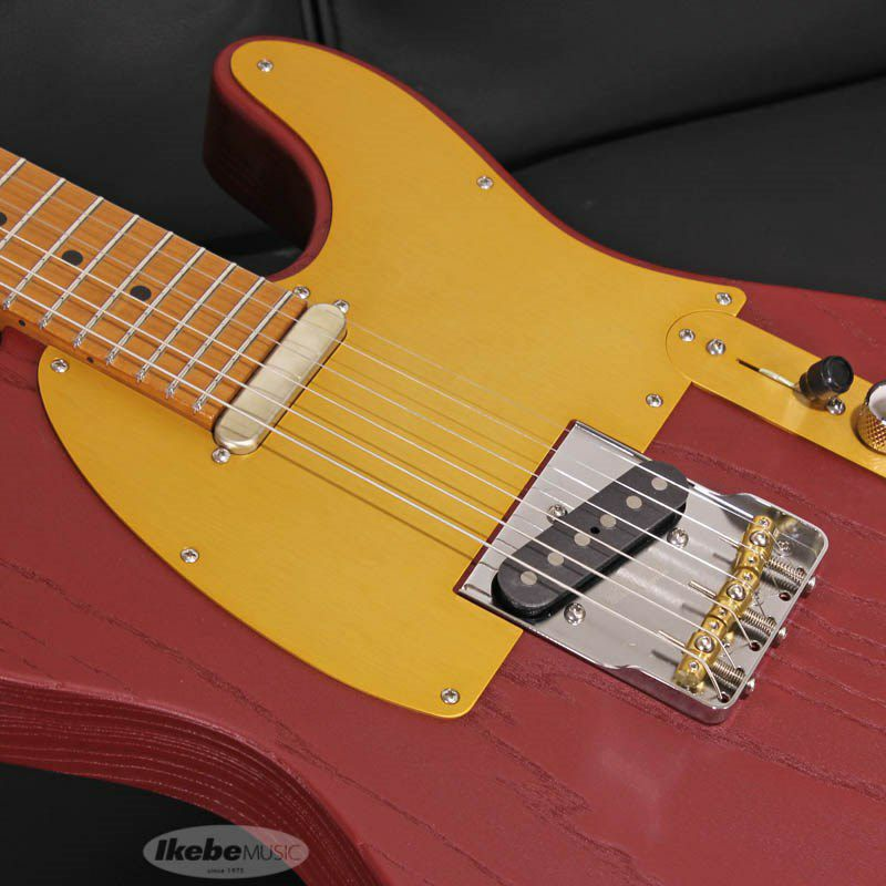 Signature Series Andy Wood Signature Modern T, Classic Style, Iron Red SN.62583_4