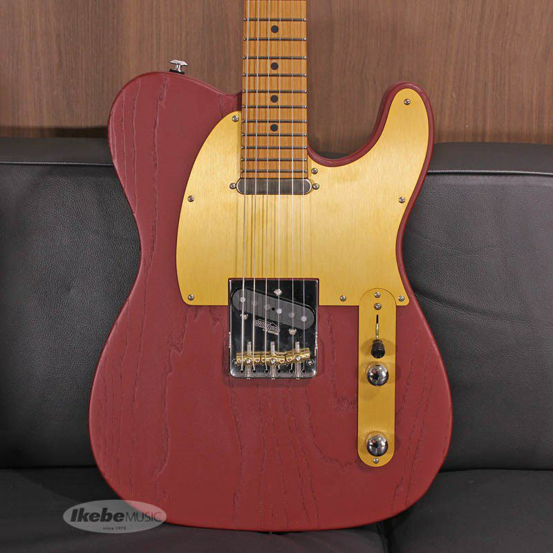Signature Series Andy Wood Signature Modern T, Classic Style, Iron Red SN.62583_10