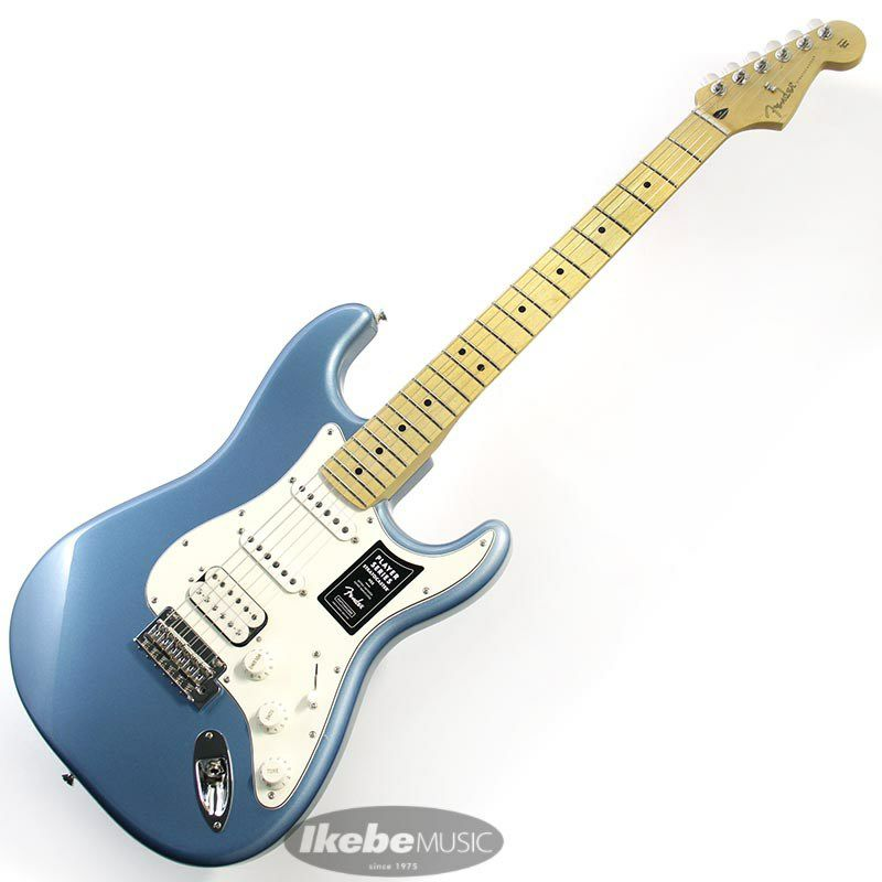 Player Stratocaster HSS (Tidepool/Maple) [Made In Mexico]_2