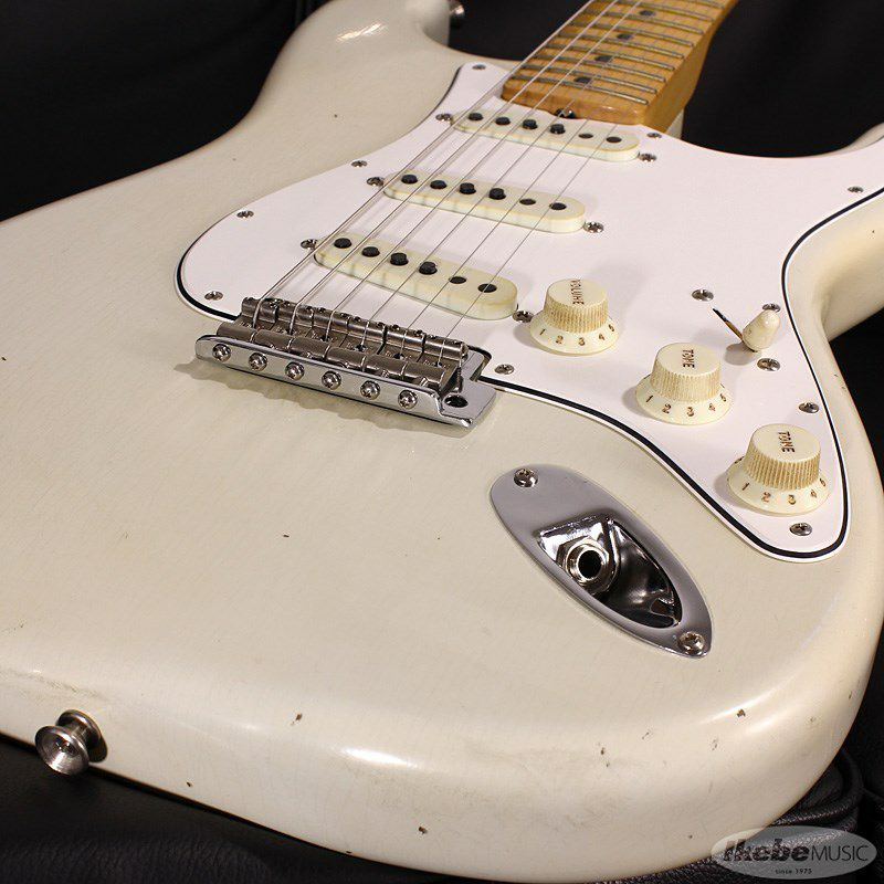Limited Edition 1969 Stratocaster Journeyman Relic Aged Olympic White_4