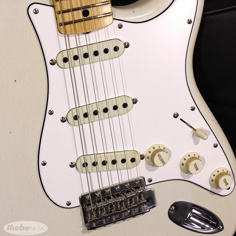 Limited Edition 1969 Stratocaster Journeyman Relic Aged Olympic White_6