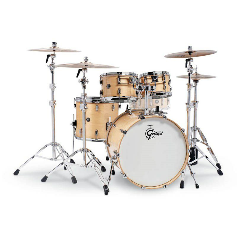 RN2-E8246-GN [Renown Series 4pc Drum Kit / BD22,FT16,TT10&12 / Gloss Natural Lacquer] 【お取り寄せ品】_1