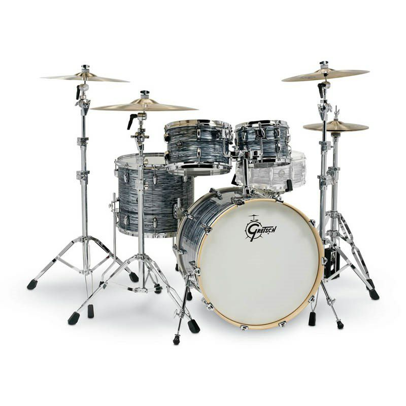 RN2-E8246-SOP [Renown Series 4pc Drum Kit / BD22,FT16,TT10&12 / Silver Oyster Pearl Nitron] 【お取り寄せ品】_1