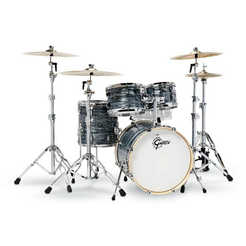RN2-E604-SOP [Renown Series 4pc Drum Kit / BD20,FT14,TT10&12 / Silver Oyster Pearl Nitron] 【お取り寄せ品】_1