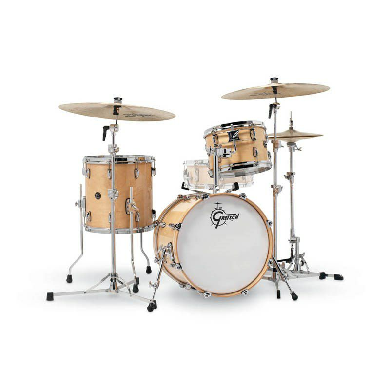 RN2-J483-GN [Renown Series 3pc Drum Kit / BD18,FT14,TT12 / Gloss Natural Lacquer] 【お取り寄せ品】_1