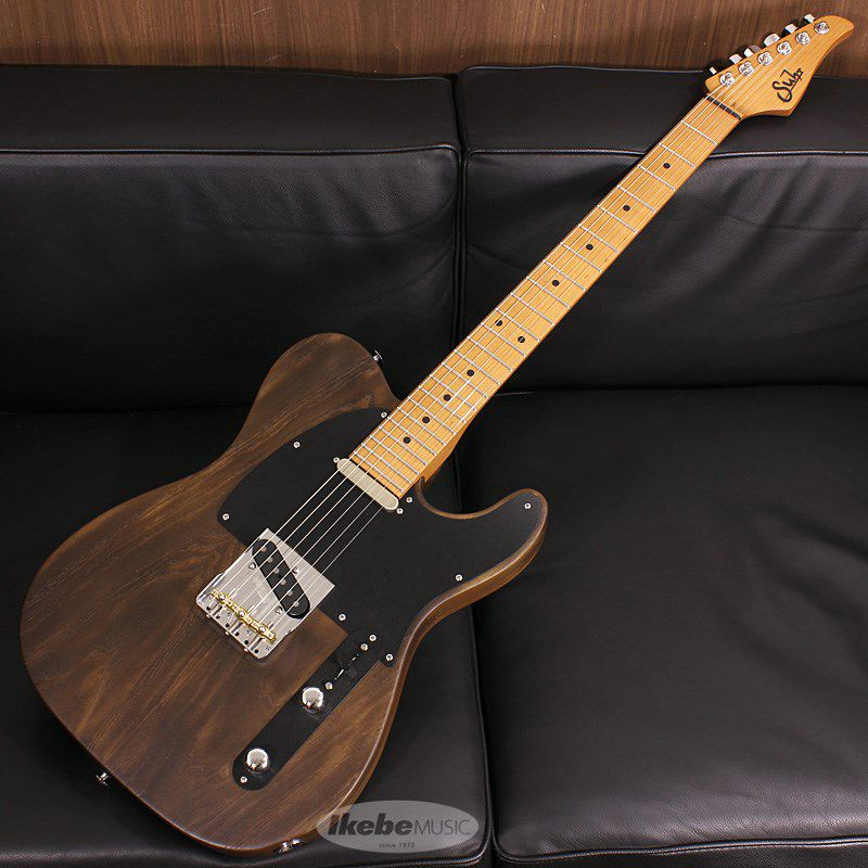Signature Series Andy Wood Signature Modern T, Classic Style, Whiskey Barrel SN.62581_1