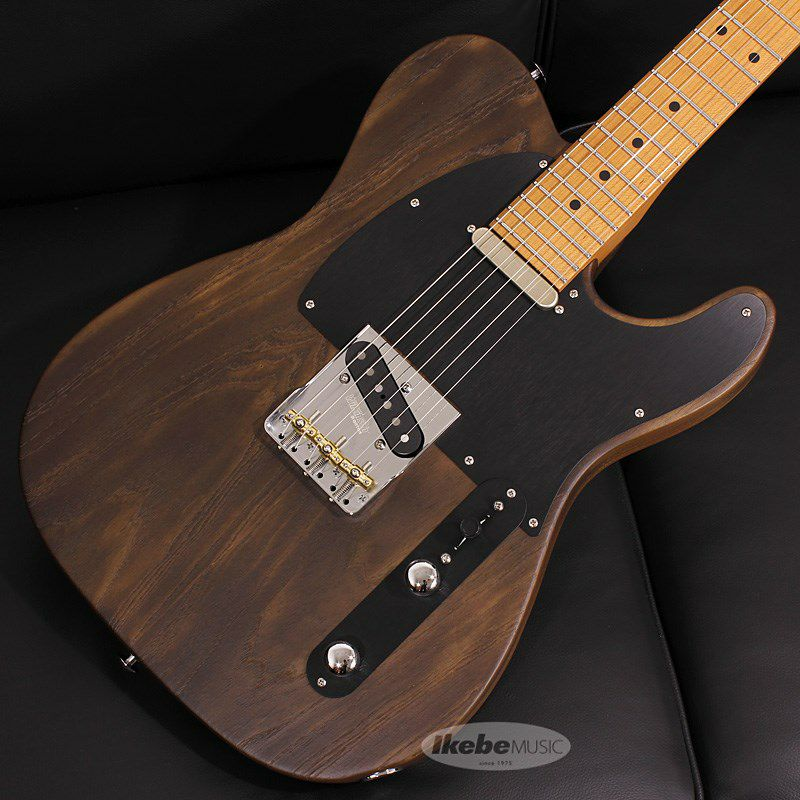 Signature Series Andy Wood Signature Modern T, Classic Style, Whiskey Barrel SN.62581_3