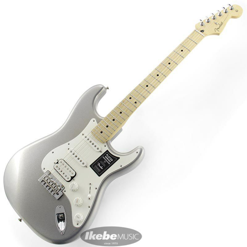 Player Stratocaster HSS (Silver/Maple)[Made In Mexico]_2