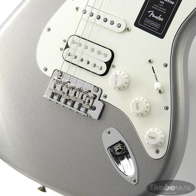 Player Stratocaster HSS (Silver/Maple)[Made In Mexico]_5