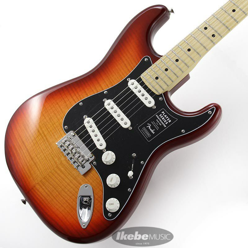Player Stratocaster Plus Top (Aged Cherry Burst/Maple) [Made In Mexico]_1