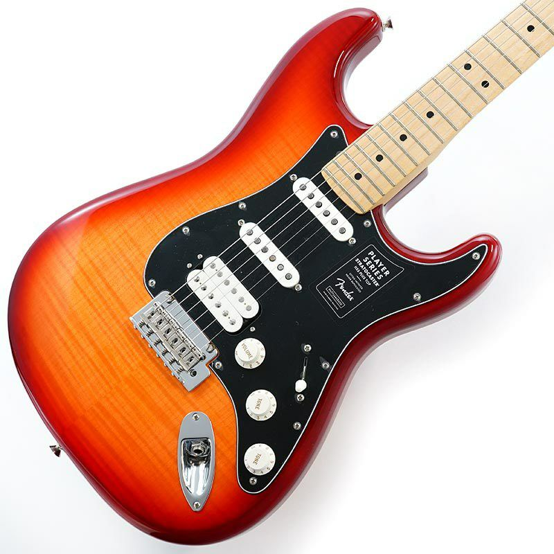 Player Stratocaster HSS Plus Top (Aged Cherry Burst/Maple) [Made In Mexico]_1