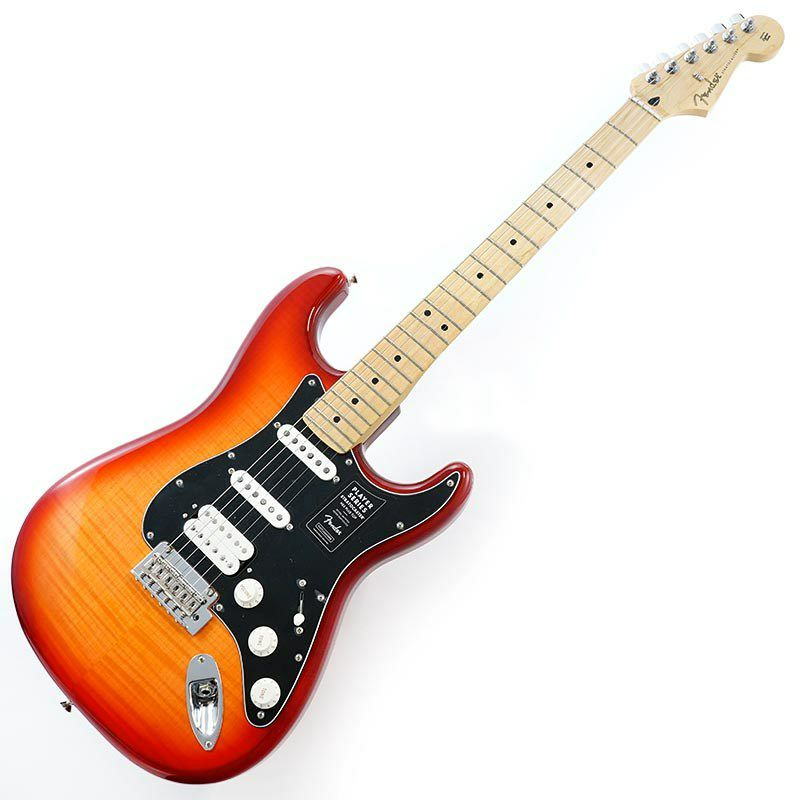 Player Stratocaster HSS Plus Top (Aged Cherry Burst/Maple) [Made In Mexico]_2