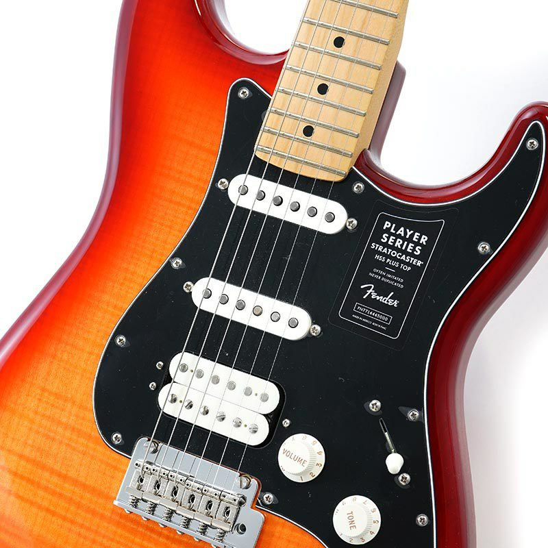 Player Stratocaster HSS Plus Top (Aged Cherry Burst/Maple) [Made In Mexico]_4