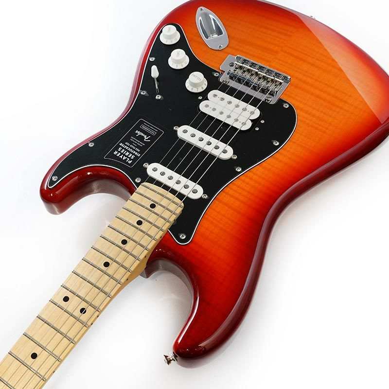 Player Stratocaster HSS Plus Top (Aged Cherry Burst/Maple) [Made In Mexico]_6