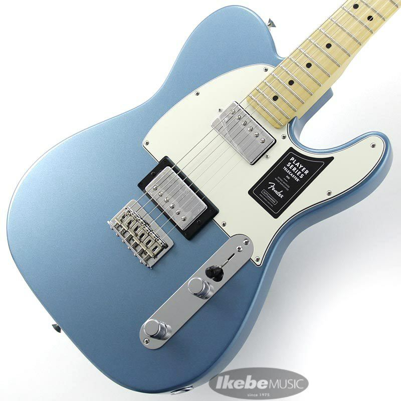 Player Telecaster HH (Tidepool/Maple) [Made In Mexico]_1