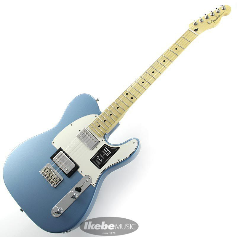 Player Telecaster HH (Tidepool/Maple) [Made In Mexico]_2