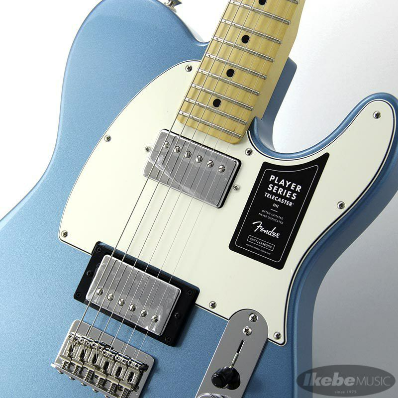 Player Telecaster HH (Tidepool/Maple) [Made In Mexico]_4