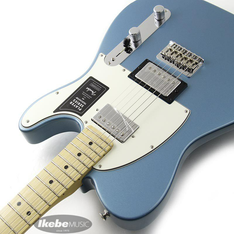 Player Telecaster HH (Tidepool/Maple) [Made In Mexico]_6