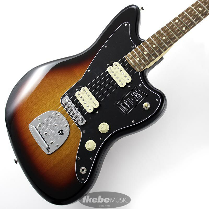 Player Jazzmaster (3 Color Sunburst) [Made In Mexico]_1