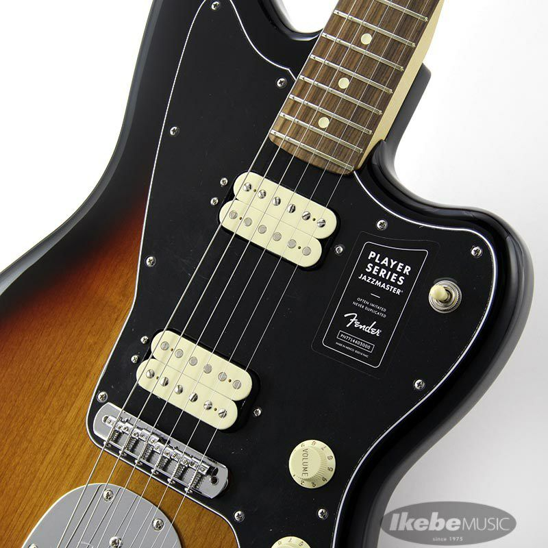 Player Jazzmaster (3 Color Sunburst) [Made In Mexico]_4