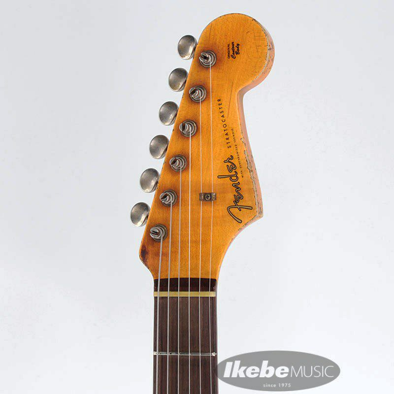 2021 Custom Shop Event Limited Edition 1960 Dual Mag II Stratocaster Super Heavy Relic (Aged Black)_4