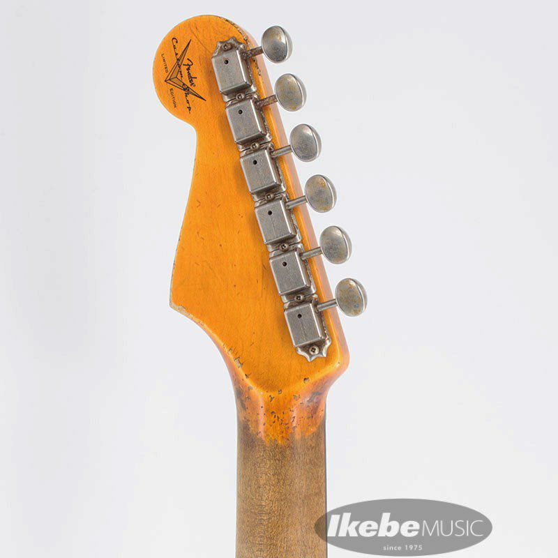 2021 Custom Shop Event Limited Edition 1960 Dual Mag II Stratocaster Super Heavy Relic (Aged Black)_5