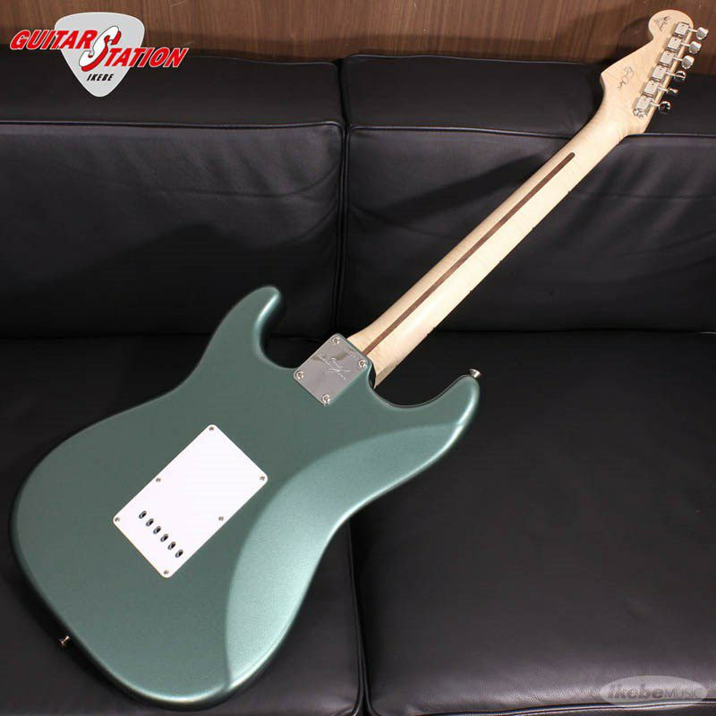 MBS Eric Clapton Stratocaster AAA Flame Maple Neck NOS Almond Green, Master Built By Todd Krause_2