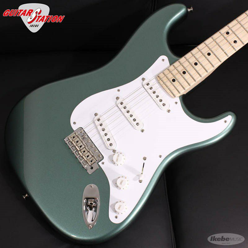 MBS Eric Clapton Stratocaster AAA Flame Maple Neck NOS Almond Green, Master Built By Todd Krause_3