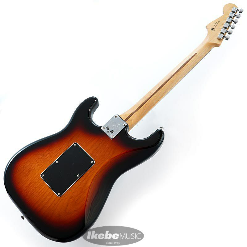 Player Stratocaster with Floyd Rose HSS (3-Color Sunburst/Pau Ferro) [Made In Mexico]_3
