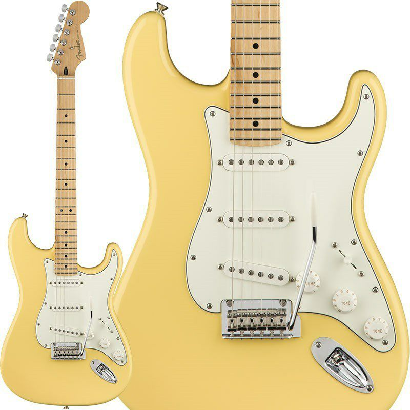 Player Stratocaster (Buttercream/Maple) [Made In Mexico] 【特価】_1